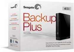 Seagate Backup Plus pakend