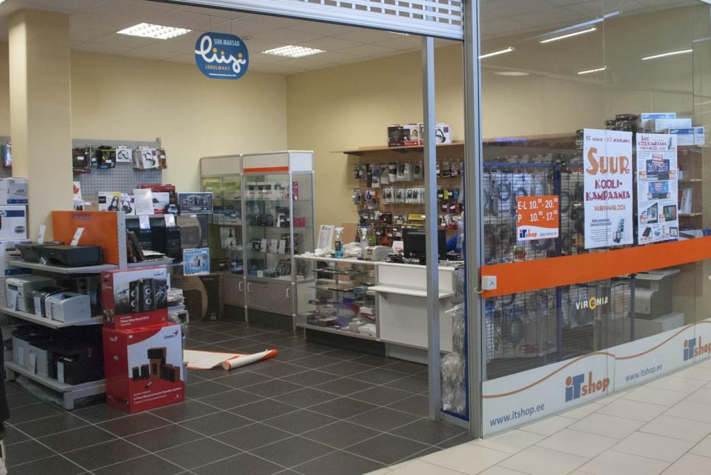 ITshop Kohtla-Järve Vironia keskus