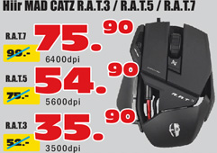 Mad Catz R.A.T-3/5/7