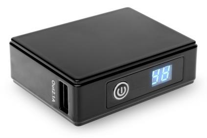 • Дополнительный внешний аккумулятор со светодиодным индикатором