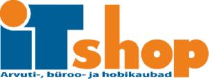 ITshop Logo väiksem tekstiga