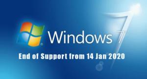 Windows 7 lõpp